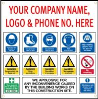 x5 Site Safety Signs, 1000mm x 1000mm............... CLICK HERE TO FIND OUT MORE